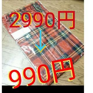 ショコラフィネローブ(chocol raffine robe)のchocol raffine robe タータンチェックストール(マフラー/ショール)