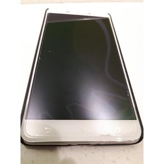 エイスース(ASUS)のゼンフォン3 レーザー zenfone3 laser ガラスフィルム+ケース(スマートフォン本体)
