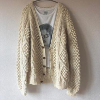 エディットフォールル(EDIT.FOR LULU)のvintage fisherman knit cardigan🐑(カーディガン)