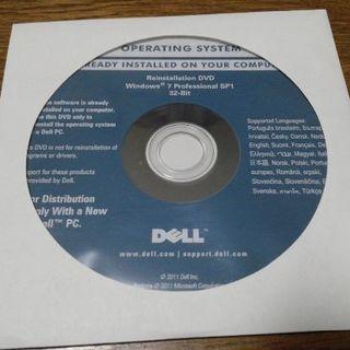 デル(DELL)の★★DELL Win7 Pro 32bit SP1 リカバリDVD★★(デスクトップ型PC)