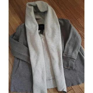 ダブルスタンダードクロージング(DOUBLE STANDARD CLOTHING)のダブルスタンダードクロージング☆ウールニットパーカー コート(パーカー)