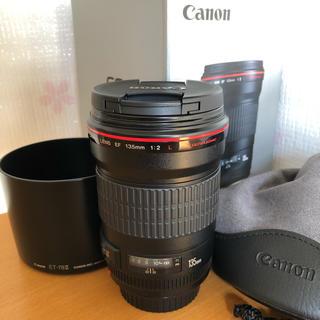 キヤノン(Canon)の【超美品】2018年製!キヤノン EF135mm F2L USM canon (レンズ(単焦点))