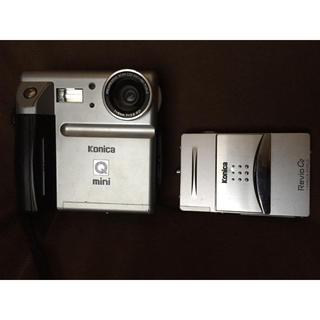 コニカミノルタ(KONICA MINOLTA)のジャンクkonicaコニカQ mini model:QM-350iおまけ有り(コンパクトデジタルカメラ)