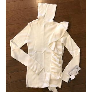 ダブルスタンダードクロージング(DOUBLE STANDARD CLOTHING)のダブルスタンダードクロージング 新品未使用 タートルニット(ニット/セーター)