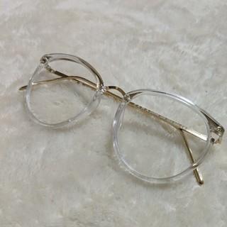 ザラ(ZARA)のZARA クリアフレーム眼鏡(サングラス/メガネ)