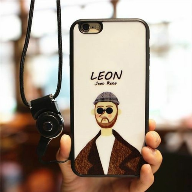 LEON 柄iPhoneケース レオン マチルダの通販 by すなふきん's shop|ラクマ