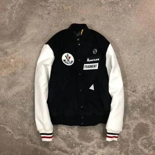 モンクレール(MONCLER)のMoncler×FRAGMENTフライトジャケット綿入れの服/コーデュロイ(ブルゾン)