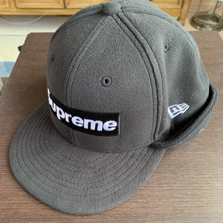 Supreme - Supreme polartec ear flap new era 17aw