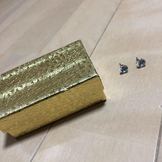 アヴァランチ(AVALANCHE)のAVALANCHE GOLD&JEWERY ホワイトゴールド ピアス 14k(ピアス(両耳用))