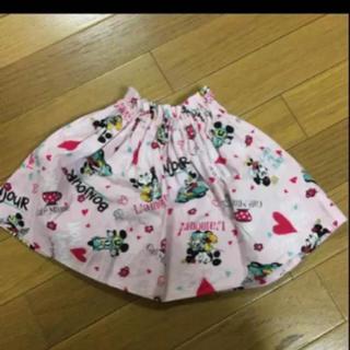 ディズニー(Disney)の美品 ハンドメイド スカート 100(スカート)