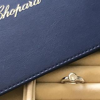 ショパール(Chopard)のショパール☆ハッピーダイヤモンド リングWG #10(リング(指輪))