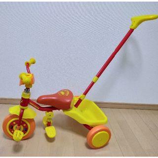 【中古】アンパンマンの三輪車 【中古】ストライダー セット(三輪車)