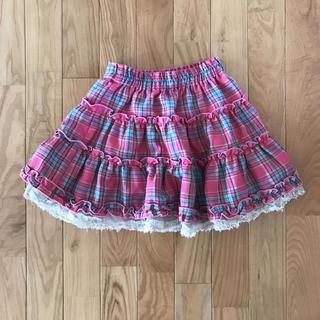 シーシーアールティー(CCRT)のCRT 可愛いチェックスカート(スカート)