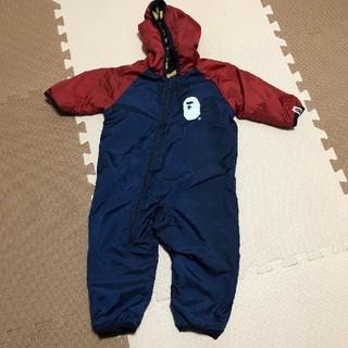 アベイシングエイプ(A BATHING APE)のマヤ様専用 APE ジャンプスーツ 80cm(ジャケット/コート)