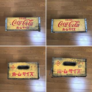 コカコーラ(コカ・コーラ)のコカコーラ木箱1個⑤金具切れ(その他)