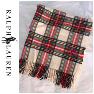 ラルフローレン(Ralph Lauren)のRALPH LAUREN ブランケット 毛100パーセント(毛布)