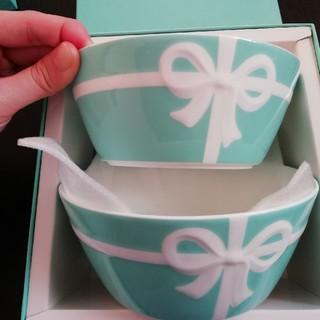 ティファニー(Tiffany & Co.)のティファニー ボウル二個セット(食器)