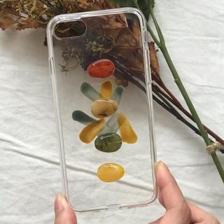 Ungrid - retoro paint iPhone case handmade