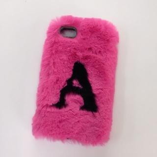 ザラ(ZARA)のZARA購入♡iPhone8ケース♡フワフワファー♡ピンク♡美品♡(iPhoneケース)