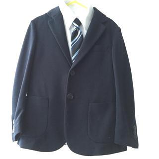 ユニクロ(UNIQLO)のキッズ フォーマルジャケット3点セット サイズ120(ドレス/フォーマル)