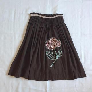 ミナペルホネン(mina perhonen)のミナペルホネン forest girl フレアスカート♪(ひざ丈スカート)