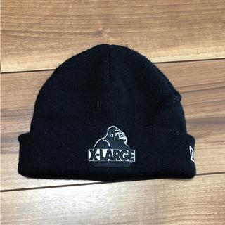 ニューエラー(NEW ERA)のNEWERA ニューエラ ニット帽 エクストララージ キッズ(帽子)
