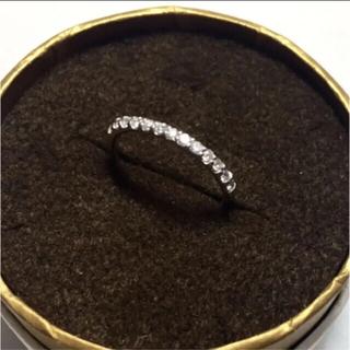 楽天 チョコフィオーレ リング K18 ダイヤ ホワイトゴールド エタニティ(リング(指輪))