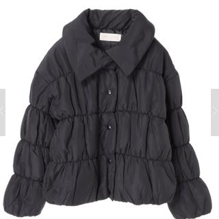 ショコラフィネローブ(chocol raffine robe)のシャーリング中綿ショートコート(その他)