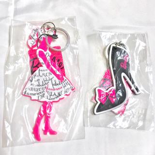 バービー(Barbie)の【新品未使用】Barbie バービー シリコンキーホルダー(キーホルダー)