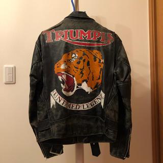 Triumph ライダースジャケット