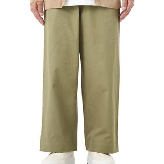 コモリ(COMOLI)のWashed finx light chino wide pants(チノパン)