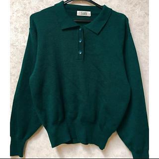 パナマボーイ(PANAMA BOY)の未使用 襟付きセーター ニット(ニット/セーター)