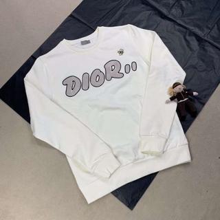 ディオール(Dior)の男女兼用DIORスウェット/白い(トレーナー/スウェット)