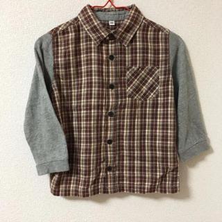 ムジルシリョウヒン(MUJI (無印良品))のMUJI☆チェックのカットソー(Tシャツ/カットソー)