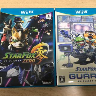 ウィーユー(Wii U)のWii U スターフォックス ゼロ ダブルパック(家庭用ゲームソフト)