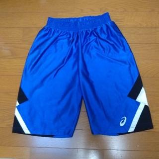 アシックス(asics)のアシックス バスパン 青 150 ブルー(バスケットボール)