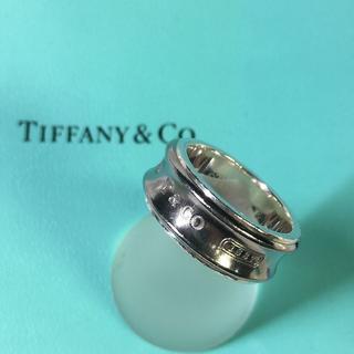 ティファニー(Tiffany & Co.)の【ティファニー Tiffany】リング 1837 シルバー×チタン 16号(リング(指輪))