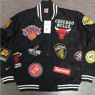Supreme - S ×NIKE×NBA ウォームアップジャケット