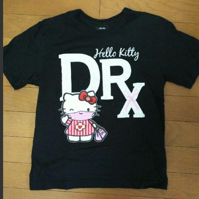 MEDICOM TOY(メディコムトイ)のキティ× drx x メディコムトイのコラボTシャツ レディースのトップス(Tシャツ(半袖/袖なし))の商品写真