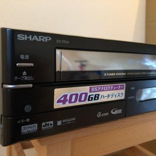 SHARP DV-TR14  HDD・DVDビデオ一体型レコーダー(DVDレコーダー)