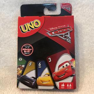 ディズニー(Disney)の新品・未開封 カーズ3 UNO  ウノ(トランプ/UNO)