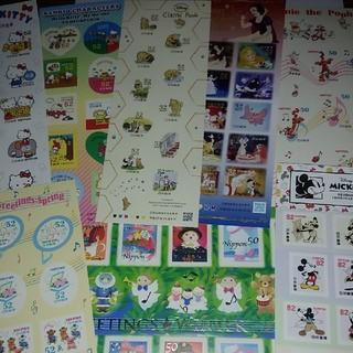 ディズニー(Disney)の新品 シール切手 5000円分(切手/官製はがき)