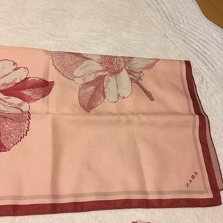 ザラ(ZARA)のZara 風呂敷 大きな布 スカーフ(バンダナ/スカーフ)
