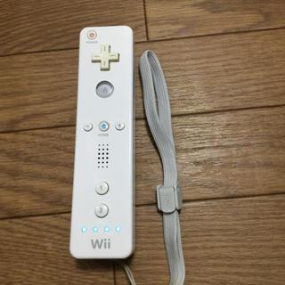 ウィー(Wii)のWiiリモコン(家庭用ゲーム本体)