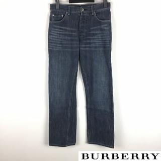 バーバリーブラックレーベル(BURBERRY BLACK LABEL)の美品 BURBERRY BLACK LABEL ストレートデニム サイズ73(デニム/ジーンズ)