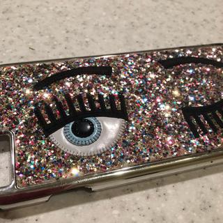 キアラフェラーニ(Chiara Ferragni)のChiara Ferragni キアラフェラー二 iPhone ケース (iPhoneケース)