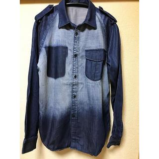 ルシェルブルー(LE CIEL BLEU)のルシェルブルー denimシャツ(シャツ/ブラウス(長袖/七分))