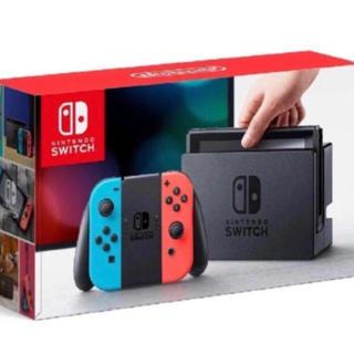 Nintendo Switch - 送料込 Nintendo Switch 本体 ネオンブルー  ネオンレッド