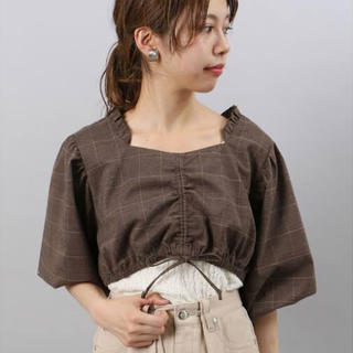 カスタネ(Kastane)のロマンティックボレロ(シャツ/ブラウス(半袖/袖なし))