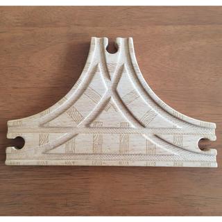 木製トーマス T字分岐レール(電車のおもちゃ/車)